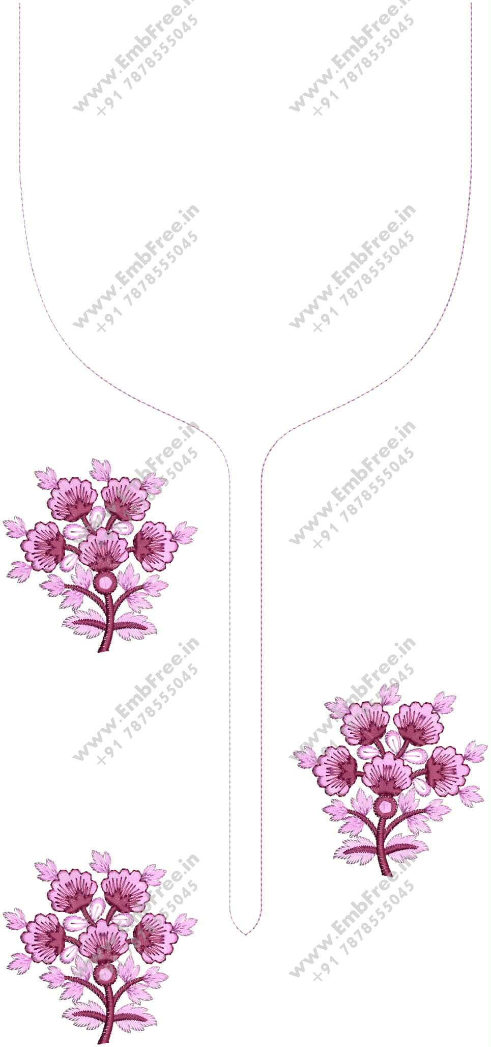 neck embroidery design gala embroidery design | Neck For mens