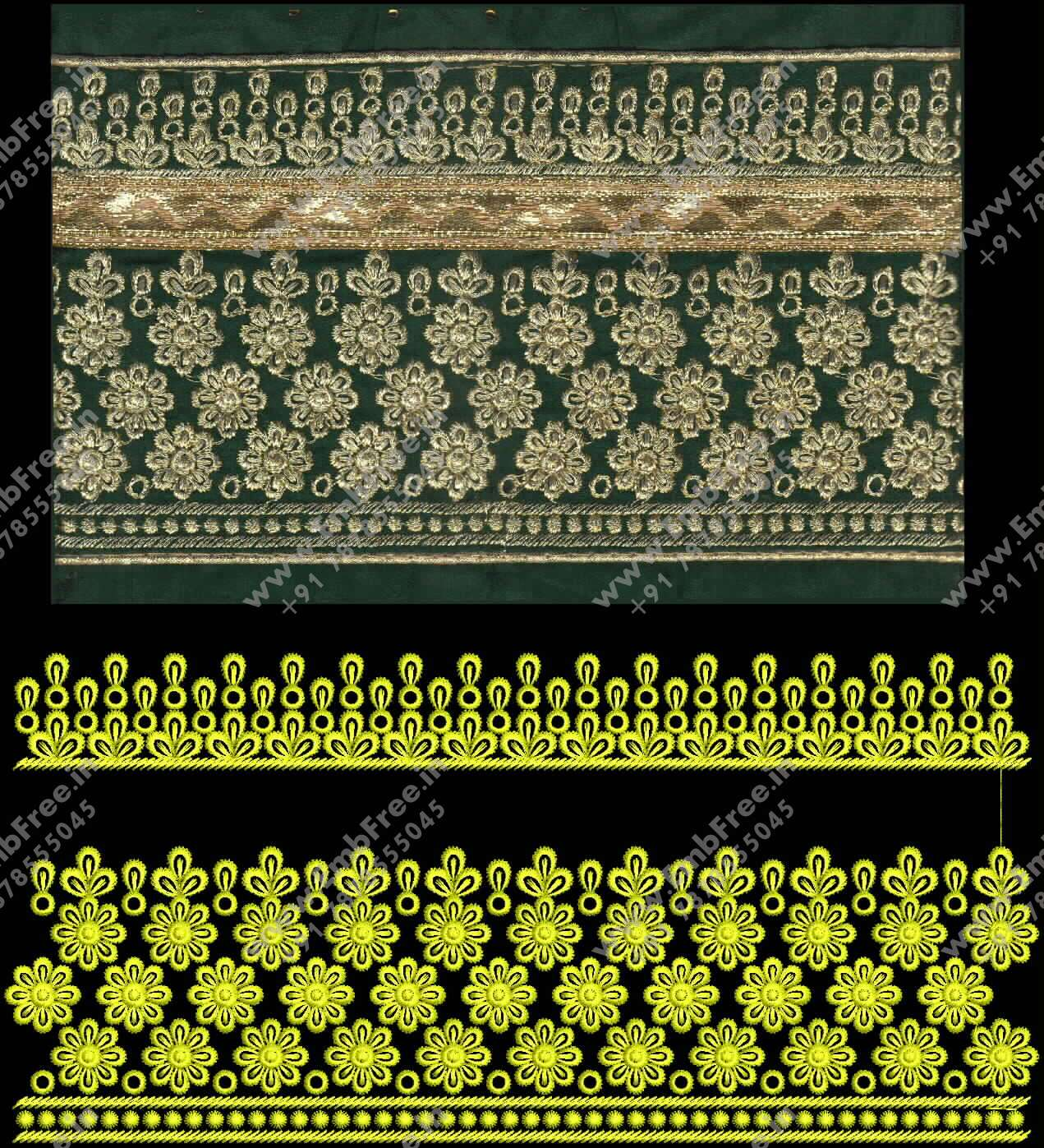 dress embroidery designs